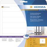 Herma 4825 Inkjet-Ordneretiketten 19.2x3.8 cm (25 Blatt (175