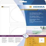 Herma 4850 CD-Etiketten 11.6x11.6 cm (25 Blatt (50 Etiketten))