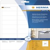 Herma 4864 wetterfest Folie Inkjet-Etiketten 6.35x2.96 cm (10 Blatt