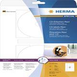 Herma 4914 maxi CD-Etiketten 11.6x11.6 cm (25 Blatt (50 Etiketten))