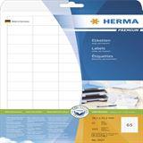 Herma 5027 Premium Universal-Etiketten 3.81x2.12 cm (25 Blatt (1625