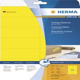 Herma 5058 gelb Universal-Etiketten 10.5x4.23 cm (20 Blatt (280