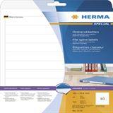 Herma 5119 Ordneretiketten 19.2x2.54 cm (25 Blatt ( 250 Etiketten))