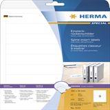 Herma 5122 Einstecketiketten 3.0x1.9 cm (25 Blatt (225 Etiketten))