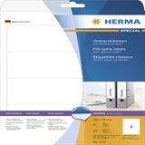 Herma 5123 blickdicht Ordneretiketten 19.2x5.9 cm (25 Blatt (100