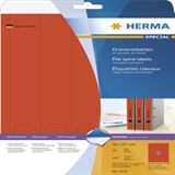 Herma 5132 blickdicht rot Ordneretiketten 3.8x29.7 cm (20 Blatt (100