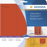 Herma 5137 blickdicht rot Ordneretiketten 6.1x29.7 cm (20 Blatt (60