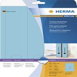 Herma 5138 blickdicht blau Ordneretiketten 6.1x29.7 cm (20 Blatt (60