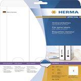 Herma 5159 blickdicht Ordneretiketten 5.9x29.7 cm (25 Blatt (75