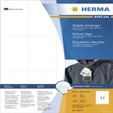 Herma Anhäng. reißfest A4 52,5x93,5 mm weiß perf.