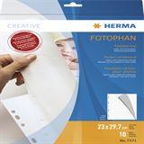Herma Fotokarton 230 x 297 mm weiß 10 Blatt