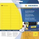 Herma 8030 strapazierfähig Signal-Schilder 4.57x2.12 cm (25 Blatt (1200 Etiketten))