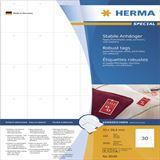 Herma 8046 perforiert nicht klebend Stabile Anhänger 3.5x5.94 cm (100 Blatt (1000 Etiketten))