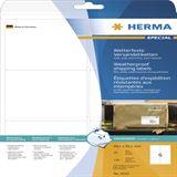 Herma 8332 extrem stark haftend Adressetiketten 9.91x9.31 cm (25