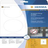 Herma Schilder strapaz. A4 85 mm rund weiß Folie 150 St.