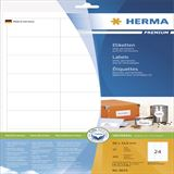 Herma 8633 Premium Universal-Etiketten 6.6x3.38 cm (10 Blatt (240