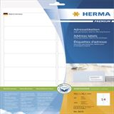 Herma 8635 premium Adressetiketten 9.91x3.81 cm (16 Blatt (640 Etiketten))