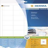 Herma 8643 Premium Universal-Etiketten 4.83x3.38 cm (10 Blatt (320 Etiketten))