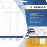 Herma 8831 Inkjet-Etiketten 2.54x2.54 cm (25 Blatt (1650 Etiketten))