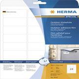 Herma 9532 Outdoor Klebefolie 6.35x3.39 cm (10 Blatt (240 Etiketten))