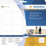 Herma 9642 quadratisch blickdicht QR-Code 4x4 cm (25 Blatt (600 Etiketten))