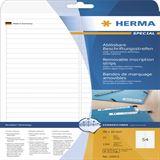 Herma 10015 ablösbar Beschriftungsstreifen 9.6x1 cm (25 Blatt