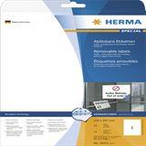 Herma 10021 Universal-Etiketten 21.0x29.7 cm (25 Blatt (25 Etiketten))