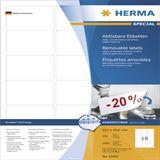 Herma 10302 ablösbar Universal-Etiketten 6.35x4.66 cm (100 Blatt (1800 Etiketten))