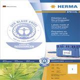 Herma 10833 Universal-Etiketten 21.0x29.7 cm (100 Blatt (100 Etiketten))