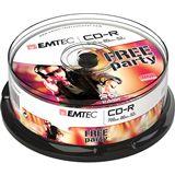 EMTEC CD-R 700 MB 25er Spindel (ECOC802552CB)