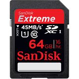 64 GB SanDisk Extreme HD Video SDXC Class 10 Retail