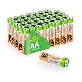 GP Batteries Super LR6 Alkaline AA Mignon Batterie 1.5 V 40er Pack