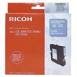 Ricoh Gel Cart. für GX2500 3000/3000S/3000SF/3050SFN/ 5050N/7000 Type GC-21C cyan (405533)