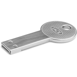 64 GB LaCie CooKey grau USB 2.0