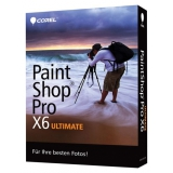 Corel Paint Shop Pro X6 Ultimate 32/64 Bit Deutsch Grafik Vollversion