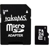2 GB takeMS microSD Retail inkl. Adapter auf SD