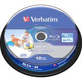 Verbatim BD-R 25 GB bedruckbar 10er Spindel (43804)