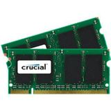 4GB Crucial CT2KIT25664AC800 DDR2-800 SO-DIMM CL6 Dual Kit