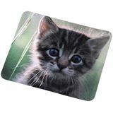 """Hama Silk-Mauspad """"Katze"""" 220 mm x 180 mm Motiv"""