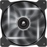 Corsair Air Series AF140 LED White Quiet Edition High Airflow 140x140x25mm 1200 U/min 25 dB(A) schwarz/transparent