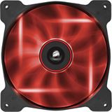 Corsair Air Series AF140 LED Red Quiet Edition 140x140x25mm 1200