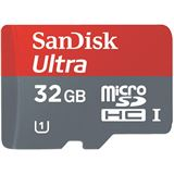 32 GB SanDisk Ultra microSDHC Class 10 Retail inkl. Adapter