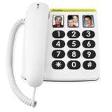 Doro Großtastentelefon PhoneEasy 331ph weiß