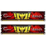 8GB G.Skill Aegis DDR3L-1333 DIMM CL9 Dual Kit