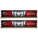 16GB G.Skill Aegis DDR3-1600 DIMM CL11 Dual Kit