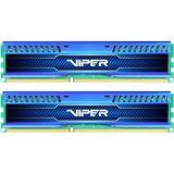 16GB Patriot Viper 3 Low Profile Series - Blue Sapphire DDR3-1600 DIMM CL10 Dual Kit