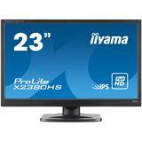 "23"" (58,42cm) iiyama ProLite X2380HS-B1 schwarz 1920x1080 1xHDMI 1.3 / 1xVGA / 1xDVI"