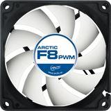 Arctic F8 PWM 80x80x25mm 700-2000 U/min 23 dB(A) schwarz/weiß