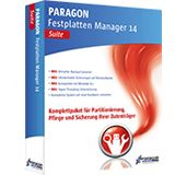 Paragon Festplatten Manager 14 Suite 32/64 Bit Deutsch Utilities