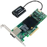 Adaptec 8885Q 2277100-R 2 Port Multi-lane PCIe 3.0 x8 Battery Backup